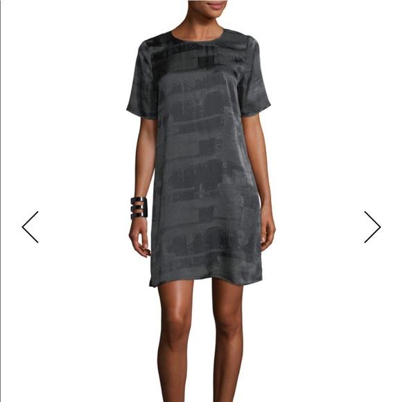 Eileen Fisher Dresses & Skirts - Eileen Fisher Gaia Silk Shift Dress